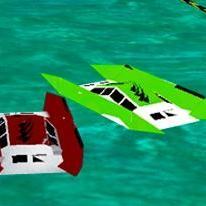 3D Power Boat Racing