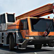 Construction Crane 3D Parking