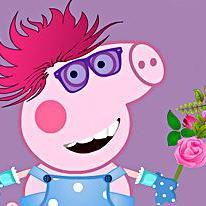 Peppa Pig Crazy Dress Up