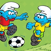 Smurfs Football Match