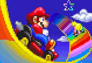 Better Colors Mario Kart: Super Circuit